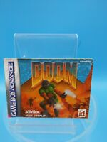 jeu video notice BE nintendo gameboy advance FRA doom