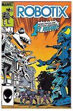 ROBOTIX #1 (NM-) 1st Protectons! 1st Terrokors! Based on Hasbro Toyline 1986