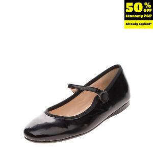 PAPANATAS By ELI Kids Leather Mary Jane Shoes Size 37 UK 4 US 5 HANDMADE Patent