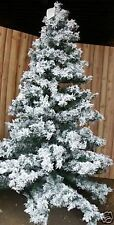 Frontgate Holiday Christmas Weeping White Frosted Pine 9' Tree prelit 33569 $900