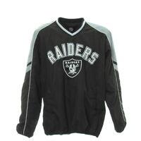 Herren NFL Raiders Trikot Gr. XXL Football Langarm Shirt Sport Jersey Gummizug