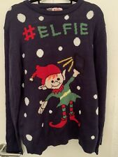 Ugly Christmas Sweater Gr.XXL Christmas Sweatshirt Elf NEU