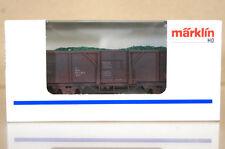 MARKLIN Märklin 4430 g0075 SONDERMODELL DB usé wagons de marchandises & CHARGE