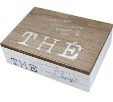 White Wooden Jewellery Trinket Box Home Decoration Shabby Chic