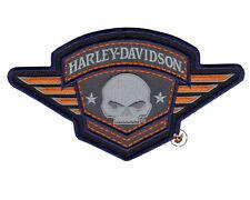 HARLEY DAVIDSON WILLIE G SKULL WINGED BADGE PATCH *NIP* VEST JACKET BIKER PATCH