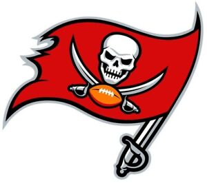 Tampa Bay Buccaneers Iron On Transfer Light/Dark Fabrics