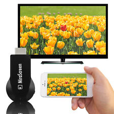 1080P Miracast Wireless Smart Phone Screen 2 HDMI TV Dongle Mirror Media Display