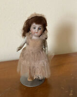 "4.5"" Antique Bisque Mignonette Doll"