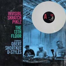 Invisibl Skratch Piklz Q Bert The 13th Floor Vinyl LP Limited Edition White New
