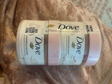 Dove Exfoliating Body Polish Pomegranate Seeds and Shea Butter 10.5 oz 2 Pack