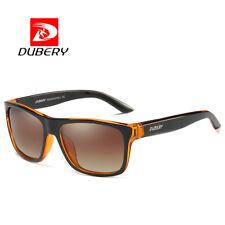 DUBERY Mens Polarized Outdoor Sunglasses Sport Driving Brown Lenses Glasses Hot
