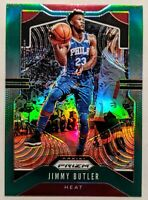Jimmy Butler 2019-20 Panini Prizm Green Prizm Base Card HOT🔥HEAT