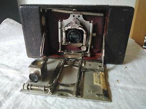 alte Plattenkamera; Balgenkamera;Dr. R. Krügener ; Doppel Antistigmat ; Unikum