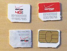 Verizon Micro Sim cards