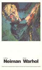 Jack Nicklaus by Leroy Neiman Art Print Original 1981 Golf Poster 21x35
