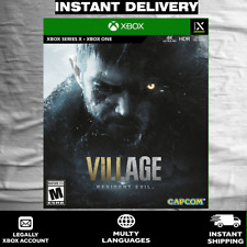Resident Evil Village XBOX ONE / SERIES (READ DESCRIPTION)