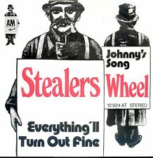 7inch STEALERS WHEEL everything i'll turn out fine GERMAN EX +PS