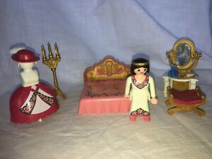 Playmobil 4253 Fairy Tales Chambre, Chateau, Roi, Reine, Princesse