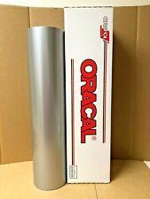 Oracal 651 1 Roll 24 X 50yd 150ft Silver Grey 090 Metallic Sign Vinyl
