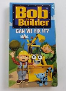 Bob The Builder - Can We Fix It? [VHS] [VHS Tape] 2001 New Sealed