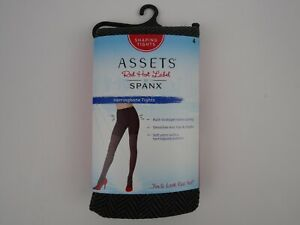 Assets by Spanx Herringbone Shaping Tights Misses Size 4  NEW Tourmaline Brown