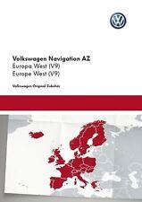 Volkswagen VW Skoda Seat RNS315, Amundsen+, SdCard Western Europe V9 2017