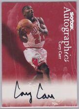 CORY CARR 1999-2000 Fleer Skybox Autographics Autographed Card #n/a