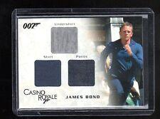 James Bond in Motion TC03 Costume card147/1200