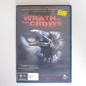 The Wrath Of Crows DVD Region 4 PAL Free Postage - Horror Thriller