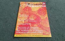 Autumn 1997 RENAULT MAGAZINE Number 140 UK BROCHURE Laguna 3.0V6 Safrane 1913 NA