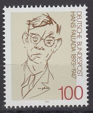 GERMANY federale BRD 1993 ** mi.1683 Fallada scrittore poet personalità