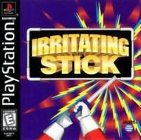 Irritating Stick Sony Playstation Game PS1 Used