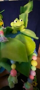 Sugar Glider Toy no sew exercise fleece Fun frog mice beds rings green leaves