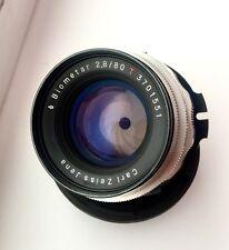 Exc! Zeiss Biometar 2.8/80 Lens Arri Pl-mount Red One Arriflex Ursa F3 12 Blades