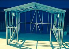Steel Stud Frame Garden shed