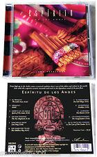 John Herberman Espiritu de Los Andes. 97 Canada CD Top