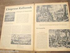 1940 L'impresa Kulhanek bosco Rabenbusch trincee francesi  2° guerra mondiale