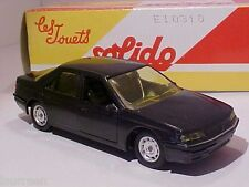 4 INCH Peugeot 605 1998 Solido 1/43 Diecast Mint in Numbered Box