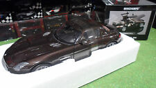 MERCEDES-BENZ SLS AMG 2010 marron metallic au 1/18 MINICHAMPS 100039028 voiture