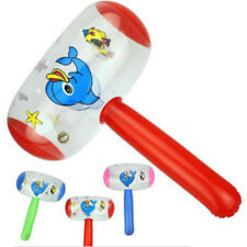 Cartoon Inflatable Hammer Air Hammer With Bell Kids Children Blow Up Toys BSEC