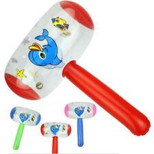 Cartoon Inflatable Hammer Air Hammer With Bell Kids Children Blow Up ToysJTUK