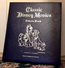 Stamp Set. Classic Disney Movies. Collector Panels. Postal Commemorative Society