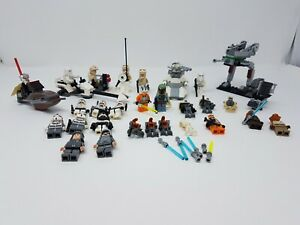 Lego Star Wars Lot (Various Minifigures and Sets)