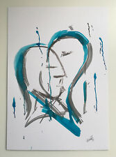 More details for abstract original watercolour painting contemporary modern art by melanie-jayne