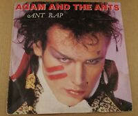 """Adam And The Ants : Ant Rap : Vintage 7"""" Single from 1981"""