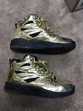 Vtg LA Gear Lights Liquid Gold Sneakers Black Light Up Mens Size 13 LATH92-11