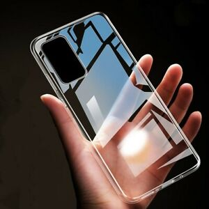 Clear Case For Samsung Galaxy S20 FE S20+ S21 Plus Ultra 5G Silicone Phone Cover