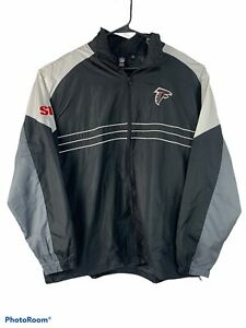 NFL Team Apparel Reebok Mens 2XL Atlanta Falcons Sports Illustrated Wind Breaker