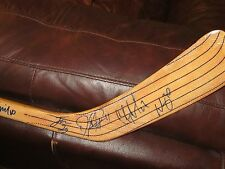 SPRINGFIELD FALCONS TEAM AUTOGRAPHED HOCKEY STICK-LOADED WITH NHL BLUE JACKETS