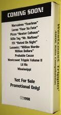 Westcoast Trippin' - Awol Killa Compilation SEALED Cassette PROMO Lunasicc 1998